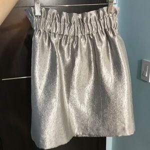 Dresses & Skirts - Metal silver skirt